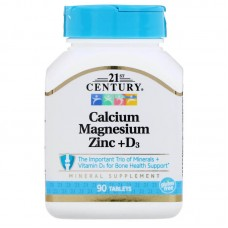 Cal Mag Zinc + D3 (21st Century)