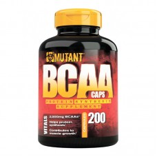 Mutant BCAA caps (Fit Foods), 200 капсул