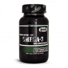 Омега жирные кислоты Frog Tech Omega 3 60% Concentrate (240 капсул)