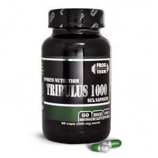 Трибулус, Tribulus 1000 95% , Frog Tech, 60 капсул, 500 мг