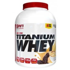 100% Pure Titanium Whey, SAN