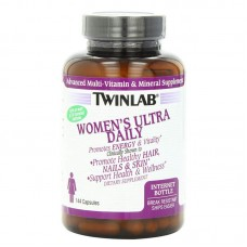 Витамины, Women's Ultra Daily, Twinlab, 120 капсул