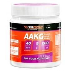 L-Arginine AAKG (Pure Protein), 200 грамм