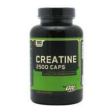 Creatine 2500 Caps (Optimum Nutrition), 100 капсул, 50 порций