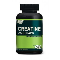 Creatine 2500 Caps (Optimum Nutrition), 200 капсул, 100 порций