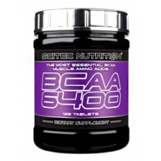 BCAA Scitec Nutrition BCAA 6400 (125 таблеток)