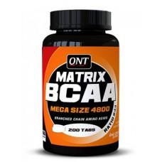 BCAA Mega Size (QNT), 200 таблеток