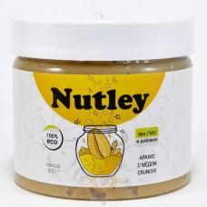 Арахисовая паста с мёдом Crunchy (Nutley), 300 грамм