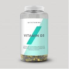 Vitamin D3 (MyProtein) , 180 капсул