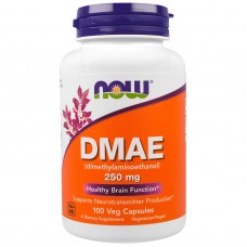 DMAE (Now) 250 мг, 100 капсул