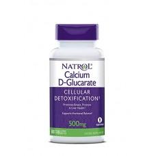 Calcium D-Glucarate (Natrol), 500 мг, 60 таблеток, 30 порций