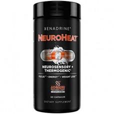 NeuroHeat, Neurosensory+Thermogeinic (Xenadrine), 60 капсул, 20 порций