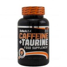 Caffeine & Taurine Power Force, Biotech, 60 капсул