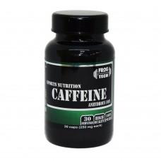 Кофеин, Caffeine, Frog tech, 30 капсул, 250 мг