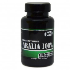 Аюрведа, Frog Tech, Aralia Extract 100, 30 капсул, 30 порций