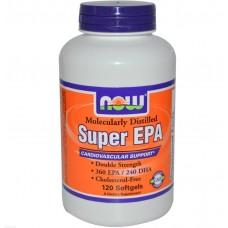 Super Omega EPA (Now), 120 гел капсул, 60 порций