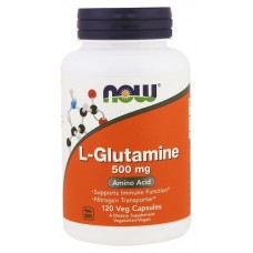 L-Glutamine (Now Foods), 120 капсул