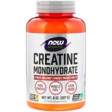 Creatine Monogidrate (Now Foods), 227 грамм, 45 порций