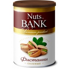 Nuts Bank Фисташки соленые (Nuts for life), 175 грамм