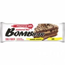 Протеиновые батончики Bombbar, Bombbar батончик, 60 грамм
