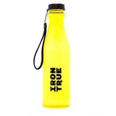 Бутылка спортивная, прозрачная (Iron True) 750 мл
