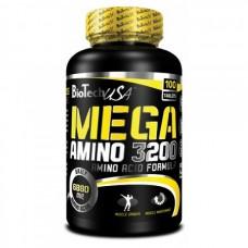 Аминокислоты, Mega Amino 3200, Biotech, 300 таблеток