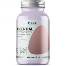 Essential Phospholipids With Milk Thistle extract & Vitamin B (Bitamin), 90 капсул