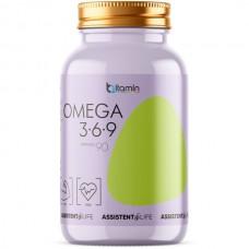 Omega 3-6-9 (Bitamin), 90 капсул