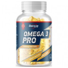 Omega 3, Pro Omega 3 35% ,GeneticLab Nutrition, 90 капсул