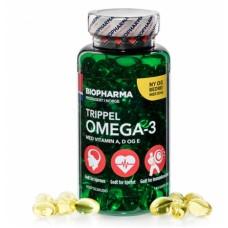 Omega-3 trippel (Biopharma), 144 капсул