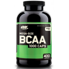 BCAA 1000 (Optimum Nutrition), 400 капсул