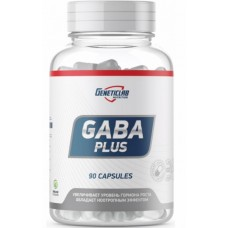GeneticLab Nutrition, Gaba Plus, 90 капсул