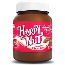 Паста Арахисовая шоколадная с кокосом (Happy Nut), 330 грамм