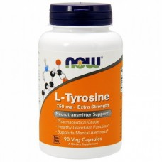 L-Tyrosine (Now Foods), 120 капсул, 500 мг