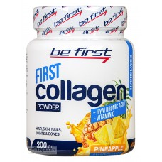 COLLAGEN + hyaluronic acid + vitamin C powder (Be First), 200 г