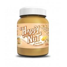 Паста Арахисовая с кешью и ананасом (Happy Nut), 330 грамм