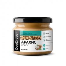 Арахисовая паста с кокосом (DopDrops), 150 грамм