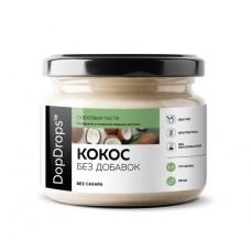 Кокосовая паста без добавок (DopDrops), 150 грамм