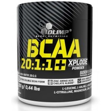 BCAA 20:1:1 Xplode powder (OLIMP Sport Nutrition), 200 г