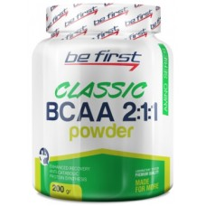 Be First BCAA 2:1:1 Classic powder, 200г
