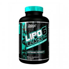 NUTREX, LIPO 6 BLACK HERS, 120 КАПСУЛ, 120 КАПСУЛ