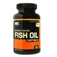 Fish Oil (Optimum Nutrition), 100 капсул