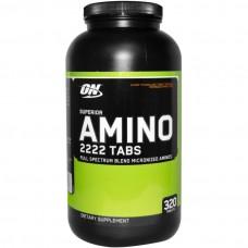 Amino 2222 Tabs NEW (Optimum Nutrition), 320 таблеток