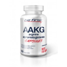 BE FIRST, AAKG CAPSULES, 120 КАПСУЛ