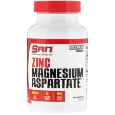 Zinc Magnesium Aspartate (SAN) , 90 капсул, 30 порций