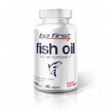 BE FIRST, FISH OIL, 90 ГЕЛЕВЫХ КАПСУЛ, 1300 МГ