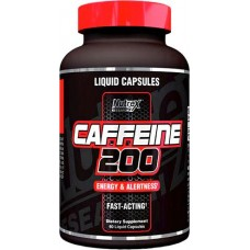 NUTREX, CAFFEINE 200, 60 КАПСУЛ, США, 60 КАПСУЛ