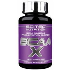 BCAA X, Scitec Nutrition, 120 капсул
