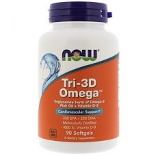Tri-3D Omega (Now), 90 капсул