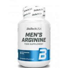 Аргинин, Mens Arginine, Biotech, 90 капс, 15 порций
